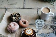 Coffee & Donuts / My life is on a rotating cycle of when I will have my next coffee, and when I will have my next donut. It's just a part of life! (My life, that is)