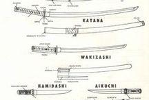SCA Japanese Misc Schtuff / Misc Armor, Guns, Encampments, etc. / by Shanna Coleman Durrant