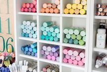 Organization / Time to get organized about getting organized.