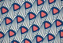 Fabrics / Lovely fabric patterns