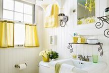 Bathroom inspiration / by Michelle Underwood