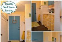 Laundry room inspiration / by Michelle Underwood