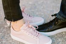 S N E A K E R S / everyday style ideas for sneakers, plus a few of our favorite pairs
