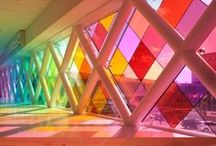 Rainbow Buildings & Unique Architecture / Amazing towns, creative buildings and stylish homes