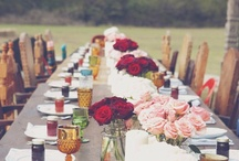 Bohemian/country wedding