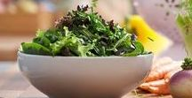 Salads / Recipes   Salad   Lettuce   Pasta   Potato   Salad Dressing   Chicken   Spinach   Strawberry   Lunch   Side Dish   Dinner