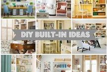 CREATE- DIY House ideas / by Michelle Underwood