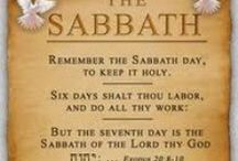 The Sabbath / Remember the Sabbath day to keep it Holy. Ex 20:8                   I was a Sunday keeper for 30 yrs. But have discovered I was wrong. We are to follow Christ. He kept the 7th Day Sabbath his entire life and to His death. So did His Apostles. Many verses appear to back up Sunday keeping, but if you dig into the Bible, you will see this is not what they are saying. Who really changed it, and whom do we follow? Christ or the traditions of man? If not Christ, it's Antichrist? I'M FOLLOWING CHRIST! / by Darrell & Terry Berard