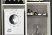 Laundry & Storage / by Rebecca Koskinen