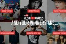 YouTube Music Awards #YTMA / The YTMAs are streaming live on November 3rd straight to your computer from all around the world. Host your own viewing party with these tips & don't forget to tune in at 6pm ET. Winners chosen by you: vote now! / by YouTube