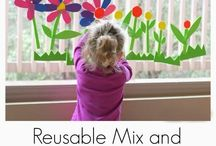 Spring Fun for Littles / Spring related activities and ideas for Littles and their Bigs.