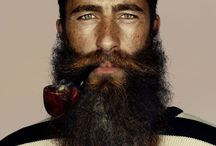 Sexy men with beards! / Handsome men, facial hair and mens fashion style