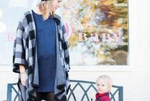 M A T E R N I T Y / Maternity style inspiration, plus our favorite maternity pieces