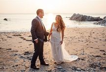 Seaside Wedding Inspiration / Stunning, unique beach inspiration and seaside weddings
