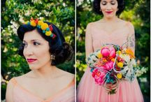 Rainbow Colourful Wedding Inspiration / Colourful, bold, vibrant use of colour for wedding styling and inspiration. Every colour of the rainbow....