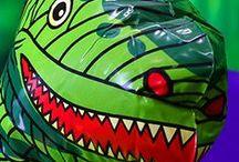 Dinosaur Party Bus
