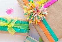 Packaging & Gift Wrap / Packaging and gift wrap inspiration to make your parcels pretty! / by Linda (burlap+blue)