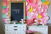Party Decor & Themes / Lots of party decor and themes to inspire your next get-together! / by Linda (burlap+blue)