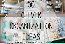 Organizational Tips & Tricks / Need to organize your home? You've come to the right place! / by Linda (burlap+blue)