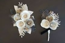 Flora / Bouquets, boutonnieres, flower arrangements, plants, beautiful flowers and foilage, real or handmade