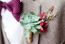 Corsages and Boutonnieres / Personal flowers to wear for proms, homecomings, weddings, and special events.