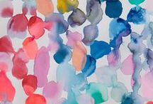 Watercolor / All about watercolors!  / by Linda (burlap+blue)