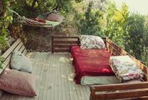 Outdoor Spaces / by Stormie Burns