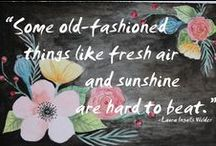Quotes, Sayings, Type / by Cherry Blossom Paperie