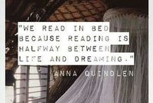 Bookish Quotes and Arts / Get your reading on with these awesome bookish quotes.