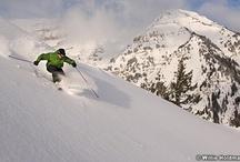 Skiing Sundance Style