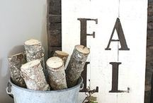Fall Crafts & Decor Ideas / Crafts, projects and decor ideas for Fall