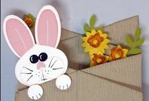 Idee, pensieri e decorazioni pasquali fai da te / Decorazioni, pensierini, biglietti d'auguri, coniglietti, ovetti e tante idee fai da te per la Pasqua!