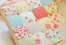 Patchwork cushions / by Karen Lane
