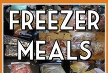 "Freezer Cooking RECIPES / Freezer cooking can save a ton of money and time and with freezer cooking you can have great meals and prep ahead of time.These AMAZING Freezer cooking recipes will fill up your freezer, save you time and you won't have to do the ""What's for dinner"" run around!  / by Lauren H"