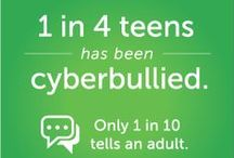 Cyberbullying / Cyberbullying, whether it's done online or over a cell phone, can affect kids of any age. Find age-appropriate guidelines, videos, and articles to help with tough conversations -- whether your kid is a bully or is being bullied. We answer all your cyberbullying questions, offering age-appropriate advice, school resources, and more from parents and experts.  / by Common Sense Media