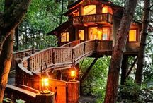 Treehouses & Outdoor Living / by Sara Keaty