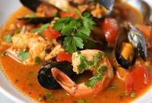 RECIPES Seafood / Tasty recipes using seafood. From crab, shrimp, lobster and more these seafood recipes will hit the spot!  / by Lauren H