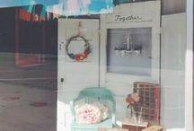 CBP Window & Store Displays / Cherry Blossom Paperie 226 N. Main, Valentine, NE