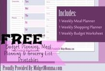 Budgeting and Finances / AWESOME Tips for saving money, budgeting and getting your finances in order. / by Lauren H