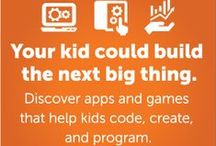 Learning with Technology / Learning with technology, whether with a math app, a video how-to, or a wiki, opens up a new world of discovery for kids. Learn how to spot the good stuff, find the right products for your kids' needs, and foster a love of learning. / by Common Sense Media