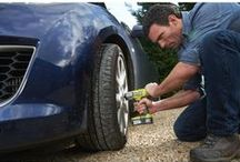 My Car / Use Ryobi tools to fix, clean, polish, spruce, service and maintain your car in tip top shape!
