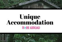 Unique Accommodation / Collection and inspiration of unique and extraordinary accomodation