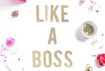 Blogging {Office Space} / Irresistible office gadgets that every girl should have! Work needs to be pretty!
