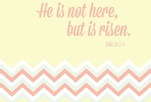 He is Risen! / Easter ideas: Decor, food, crafts, and fun for kids. / by Aryn CB