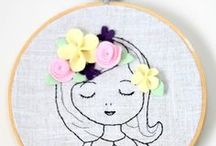 Stitching - Needlework / embroidery | knitting | crochet