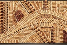 Wine Corks, Bottles & Barrels / Re-purposed and Upcycled Wine Bottles, Wine Corks and Wine Barrels. / by Leighanne Stainer