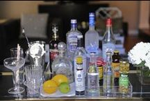 Spirited  / Idea's on how to put together a beautiful home bar