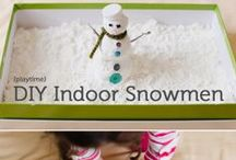 Winter Activities for Kids / Winter crafts, activities, and sensory play for kids and play ideas for toddlers, preschoolers, and elementary aged kids.