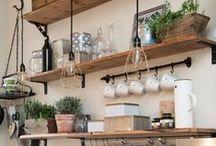 Kitchen / Kitchen organization, remodel, gadgets, decor.
