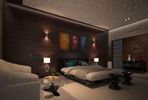 Photo Realistic Interior Renders of a Hotel Guest Room
